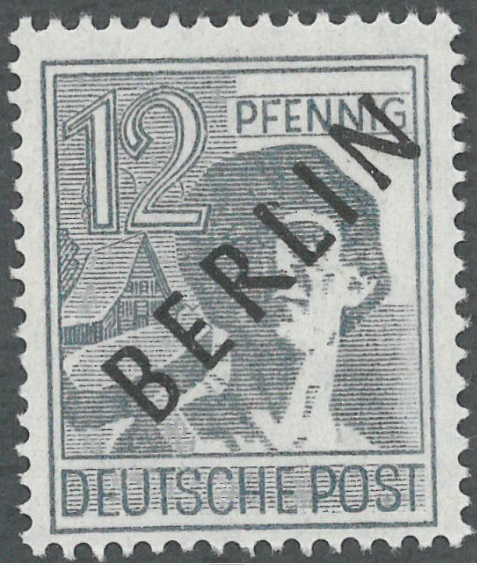Germany West Berlin Varieties Of Postage Stamps World Stamps Project