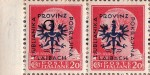 Provinz Laibach, overprint error: Thick beak