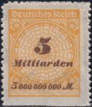 deutsches-reich-1923-rosette-plate-error-5mlrd