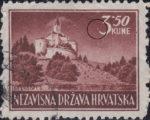 Croatia postage stamp 3.50 kn, Trakoščan