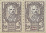 SHS Sovenija 20 krone stamp plate error: Small letter K in denomination