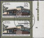 GDR postage stamp plate error, post office