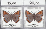 Germany, Butterfly postage stamp plate error