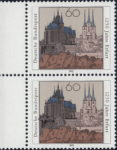 Germany, Erfurt, postage stamp plate error