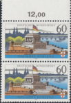 Germany, Koblenz postage stamp plate error