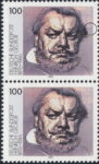 Germany Heinrich George postage stamp error