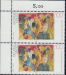 Germany George Grosz postage stamp error