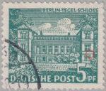 Berlin postage stamp error Tegeler Schloss