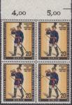 Berlin postage stamp error BEPHILA 1957