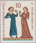 Berlin postage stamp error Minnesingers