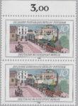 Berlin postage stamp error railway anniversary