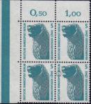 Berlin postage stamp error Braunschweig Lion