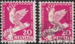 Switzerland: postage stamp error, Disarmament Conference, broken sword