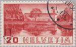 Switzerland: postage stamp error, International Labour Organization, FISCHER missing