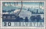 Switzerland: postage stamp error, League of Nations