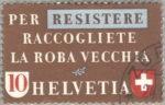 Switzerland, postage stamp plate error scrap materials
