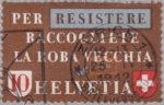 Switzerland, postage stamp error scrap materials,