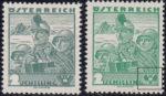 Austria 1935 postage stamp type, 2 schilling, Tiroler Kaiserschützen