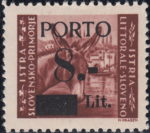 Slovene Littoral, first postage due issue type I
