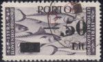 Slovene Littoral postage due stamp overprint error serif in PORTO missing