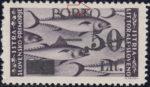 Slovene Littoral postage due stamp overprint error O in PORTO open on top