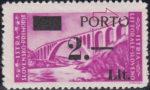 Slovene Littoral postage due stamp overprint error letter O in PORTO open