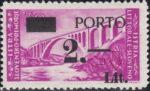 Slovene Littoral postage due stamp overprint error dot