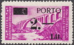 Slovene Littoral postage due stamp type Ia subtype 5