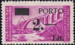 Slovene Littoral postage due stamp type Ib