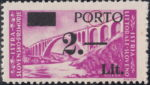 Slovene Littoral postage due stamp type IIa