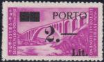 Slovene Littoral postage due stamp IIb 2 lira