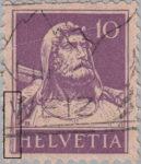 Switzerland Tell stamp error