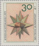 Germany postage stamp error shifted printing phases