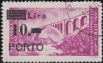 Slovene Littoral postage due stamp types large P in PORTO
