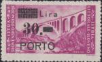 Slovene Littoral postage due stamp types P in PORTO