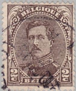 Belgium King Albert postage stamp type 3