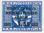 Yugoslavia Istria Slovene Littoral 1.50 lira stamp