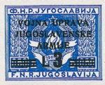 Yugoslavia Istria Slovene Littoral 3 lira stamp