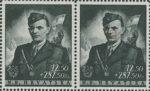Croatia 1944 Jure Francetić postage stamp error