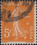 France Sower postage stamp error