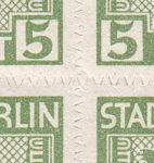 Soviet Occupation Zone Berlin Brandenburg perce en scie