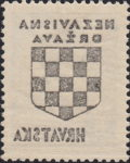 Croatia 1941 postage stamp error offset