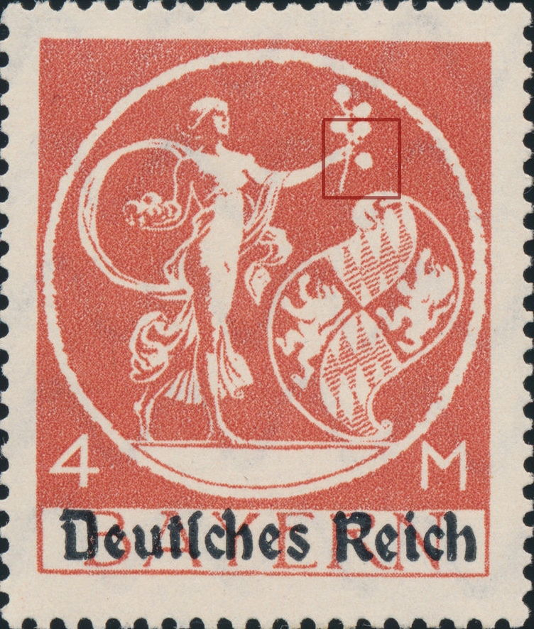 Germany, Varieties of Postage Stamps of the Weimar Republic – World