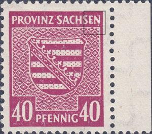 Germany, Soviet Occupation Zone: Saxony Province: varieties